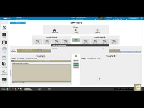 Dell ME4 Serie Storage Grundkonfiguration Und Host-Zugriff
