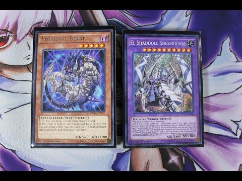 YuGiOh! BEST! Pure Shaddoll Deck Profile! June 2017 Fusion Deck! Possible LINK Deck?!?