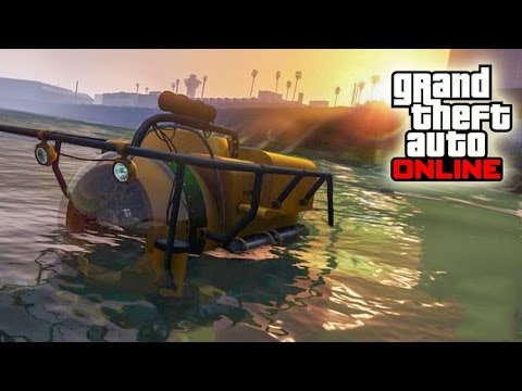 Best Way To Get UNLIMITED MONEY In Grand Theft Auto V With Submarine ...