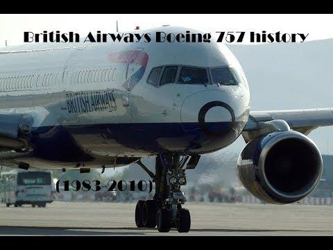 Fleet History - British Airways Boeing 757 (1983-2010)