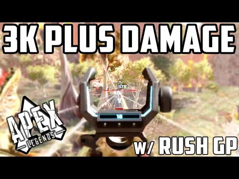 [Apex Legends PS4]Japanese Console Player's High Kill Game! W/ Rush GP Of Rush Gaming