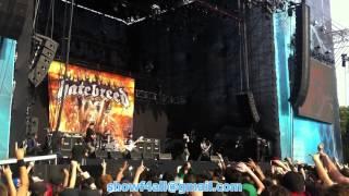 Hatebreed - Dead Man Breathing (Monsters Of Rock 2013)