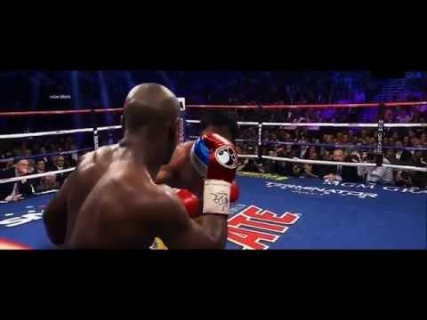 Mayweather vs Pacquiao Highlights {slow mo} power shots