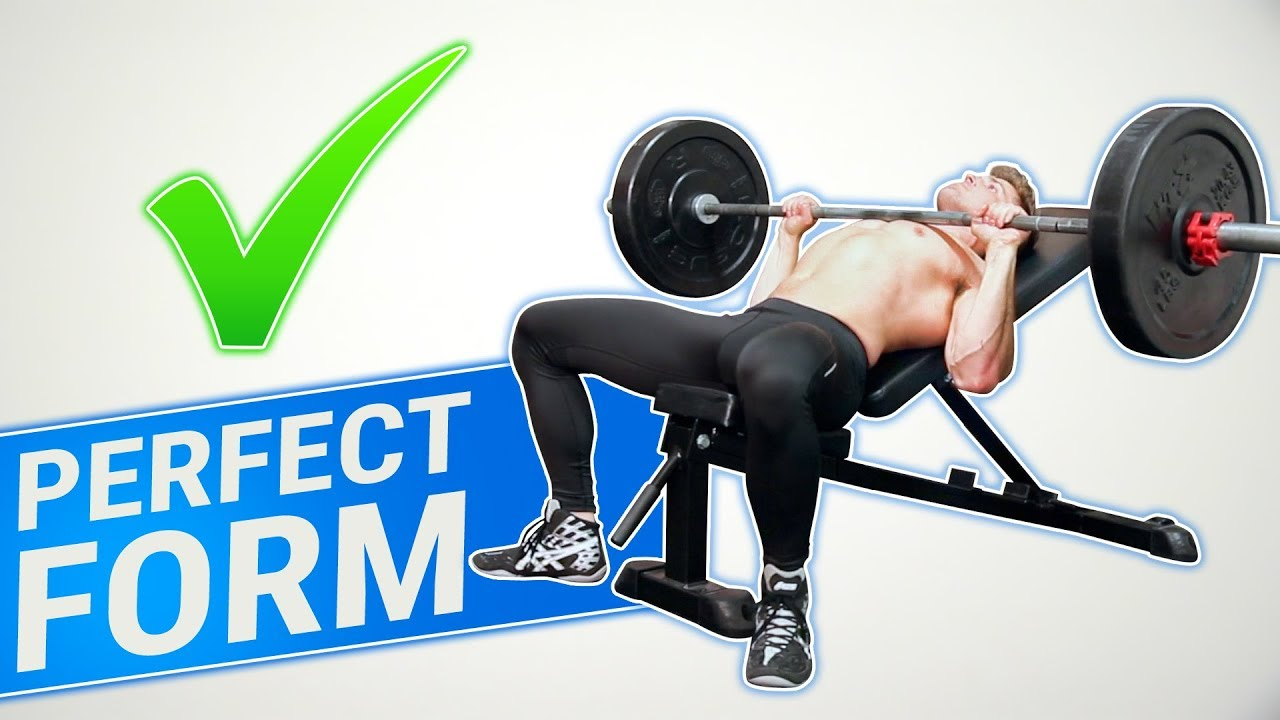 How To Incline Barbell Bench Press 3 Golden Rules Made Better