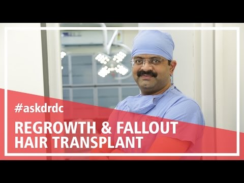 Hair growth after Hair Transplant:Fallout & regrowth of Hair | HairMD, Pune