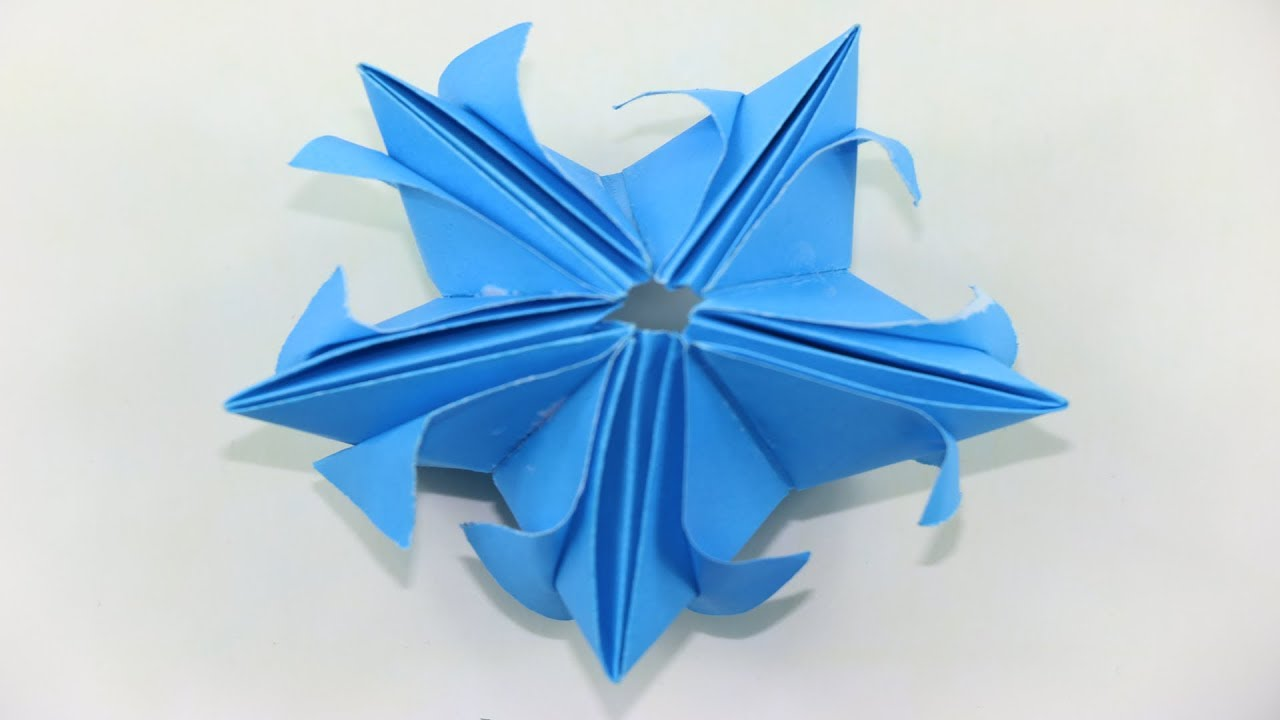 How To Make A Paper Magic Star