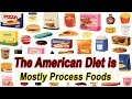 The American Diet Is Composed Mostly From Processed Foods Made From Corn And Soybeans?