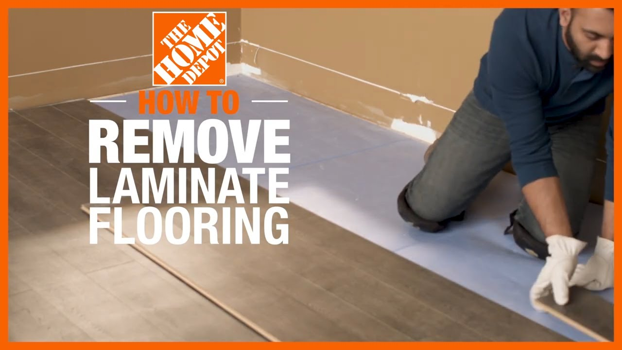How To Remove Laminate Flooring The