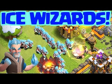 New Ice Wizard in Clash of Clans - How to work - How to use - 6 days 6 hours left used to only - coc