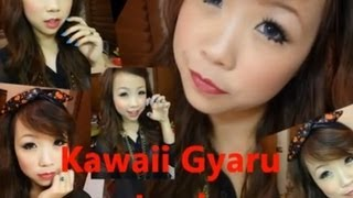 Kawaii Gyaru Makeup (red lips ver.) Thumbnail