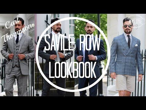 Savile Row Lookbook | Savile Row Style | Carl Thompson