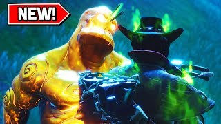 'FREE' LEGENDARIES FROM GOLD CUBE MONSTERS in Fortnite! (Événement d'Halloween Fortnitemares)