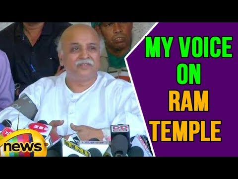 VHP Leader Pravin Togadia alleged Attempts Made to muzzle my voice on RAM Temple | Mango News