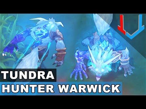 Tundra Hunter Warwick - Champion Rework 2017 (League of Legends)