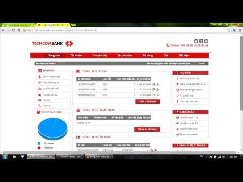 Ngân Hàng Tại Nhà Techcombank - Home Banking