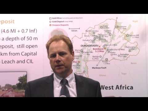 Orezone Gold CEO Ron Little Talks Gold in Burkina Faso