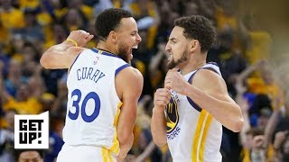 Steph and Klay turned back into Batman & Robin after KD went down – Seth Greenberg | Get Up!