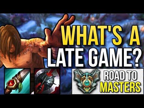 LEE SIN'S ACHILLES HEEL | Road to Masters #6 - League of Legends