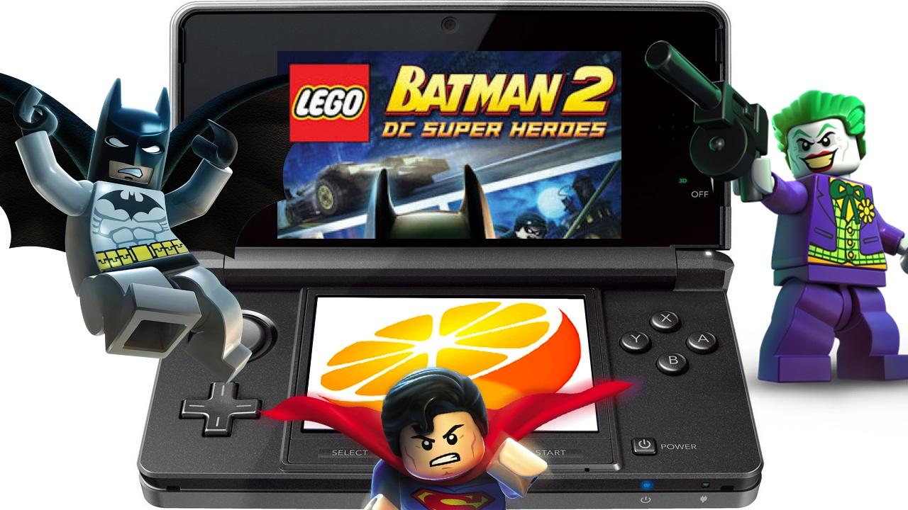 Citra 3DS Emulator - LEGO Batman 2 (2012). Ingame. CPE v.1 ...