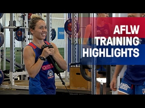 AFLW Weights Session