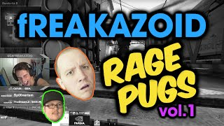 fREAKAZOID: Plays w/ TIMTHETATMAN & TM on ESEA ☆ColorSubZ☆