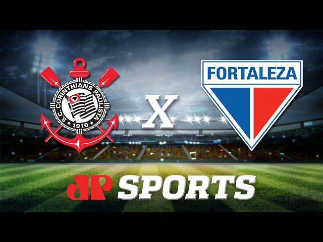 Ao Vivo Corinthians X Fortaleza 06 11 19 Brasileirao Futebol Jp Jovem Pan