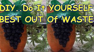 DIY    DO It YOURSELF   BEST OUT OF WASTE   CREATIVE RANJEETA SHARMA