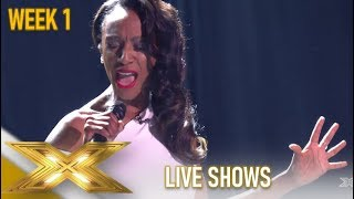 Victoria Ekanoye: She Amazes Simon Cowell With Jaw-Dropping Song! | The X Factor 2019: Celebrity