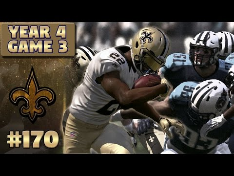 Chunk Yardage | Saints @ Titans (S4, G3) | Madden NFL 17 New Orleans Saints Franchise Ep. 170