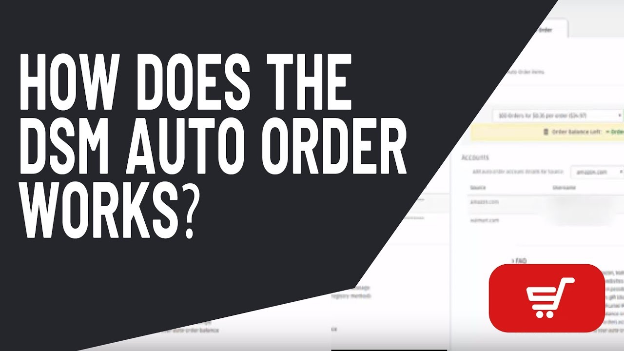 DSM Tool eBay drop shipping: How does the DSM Auto Order works?