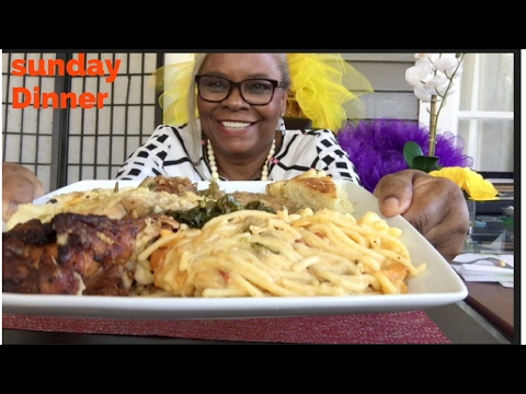 SOUL FOOD SUNDAY DINNER • MUKBANG