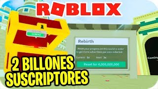 I GET 2 BILLIONS OF SUBSCRIBERS IN ROBLOX!