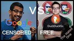 Google vs DuckDuckGo | Search engine manipulation, censorship and why you should switch