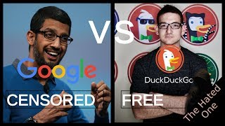 Google vs DuckDuckGo | Search engine manipulation, censorship and why you should switch thumbnail