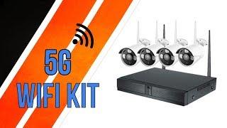 Wireless Security System : WIFI Kit 5G