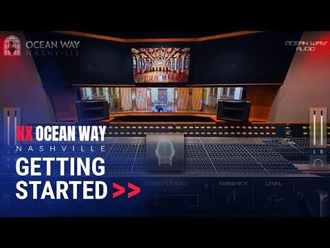 Getting Started: Nx Ocean Way Headphone Mixing Plugin