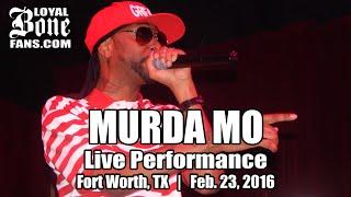 "Krayzie Bone - ""Murda Mo"" (Live in Fort Worth, TX) [Feb. 23, 2016]"