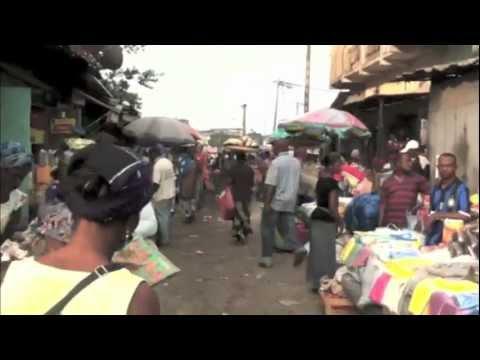 Marché de Mont-Bouët -in Libreville Gabon