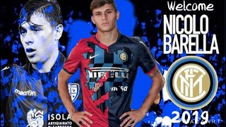 Nicolò Barella - the Future of the national team - Welcome to Inter FC 2019 -  HD