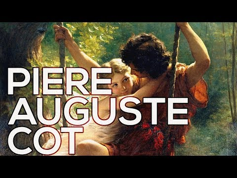 Pierre Auguste Cot: A collection of 20 paintings (HD)