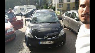 Осмотр, тестдрайв и покупка в Литве Mazda 5 2.0l Дизель 2006 Механика 3700$
