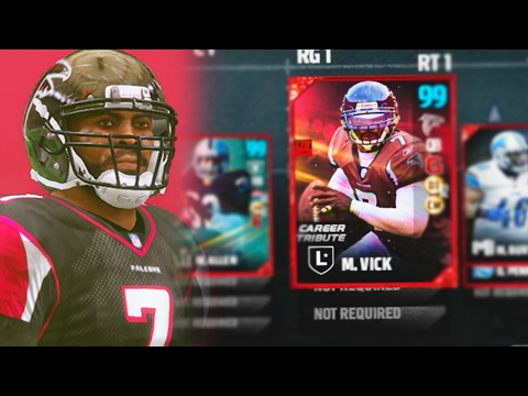 99 OVERALL MIKE VICK DEBUT! BEST CARD IN MADDEN