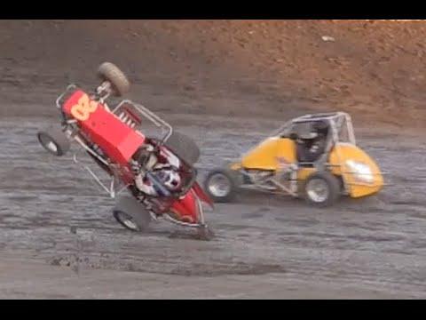 Bakersfield Speedway HEAT RACES 4-18-15