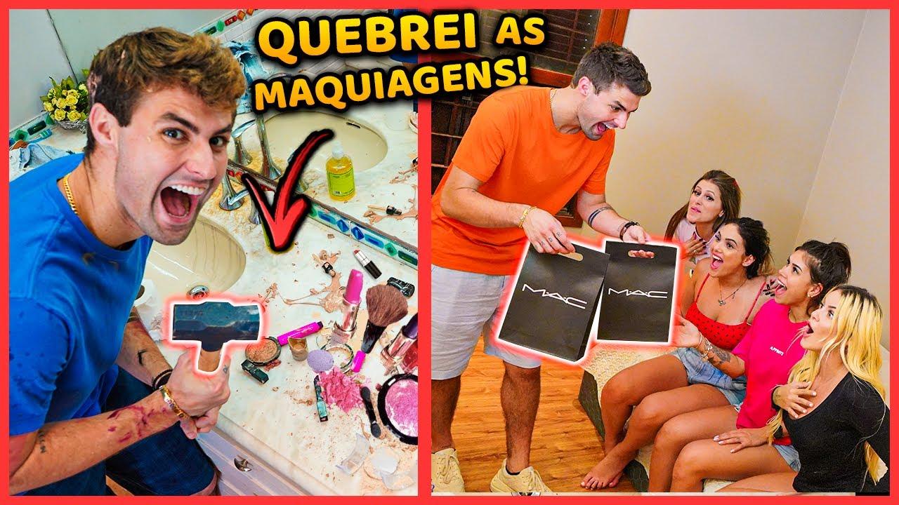 Download QUEBREI AS MAQUIAGENS DAS MENINAS DA CASA E DEI NOVAS PARA ELAS!! [ REZENDE EVIL ]