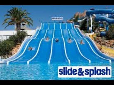 Slide And Splash Algarve Youtube