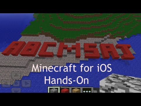 Minecraft: Pocket Edition for iOS - Hands-On | Abcmsaj
