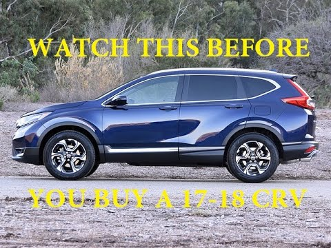 2018 HONDA CRV - WATCH THIS BEFORE PURCHASE - OIL DILUTION