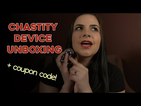 Chastity Device Unboxing + Coupon Code!