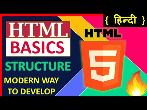 HTML Tutorial For Beginners | HTML Basics And Structure | Learn HTML