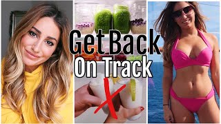 How to get back on track in 2018 after holidays and vacation!! THUM...